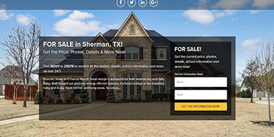 UNLIMITED SINGLE PROPERTY WEBSITES